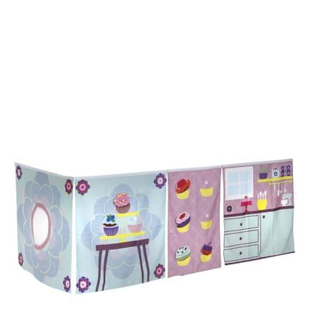 Manis-h Interactive Cup Cake Play Curtain